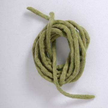 Cord in felt - Green