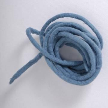 Cord in felt - Blue