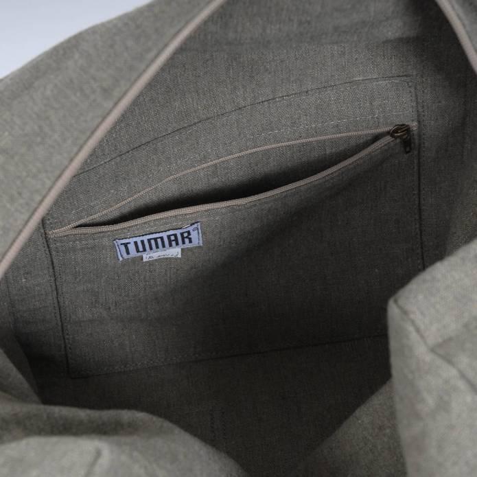Hamac chaise avec sac - Moyen - Latte