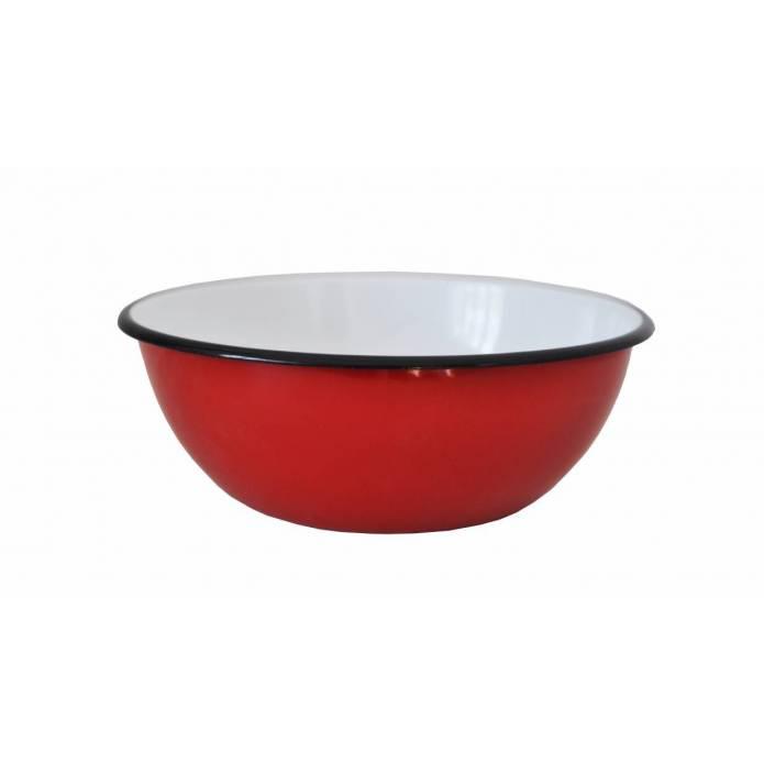 Mug en métal émaillé - 400 ml - Beige