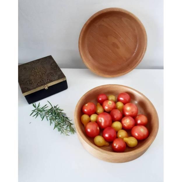 Ceramic plate - Rishtan painting - Diameter 24,5 cm