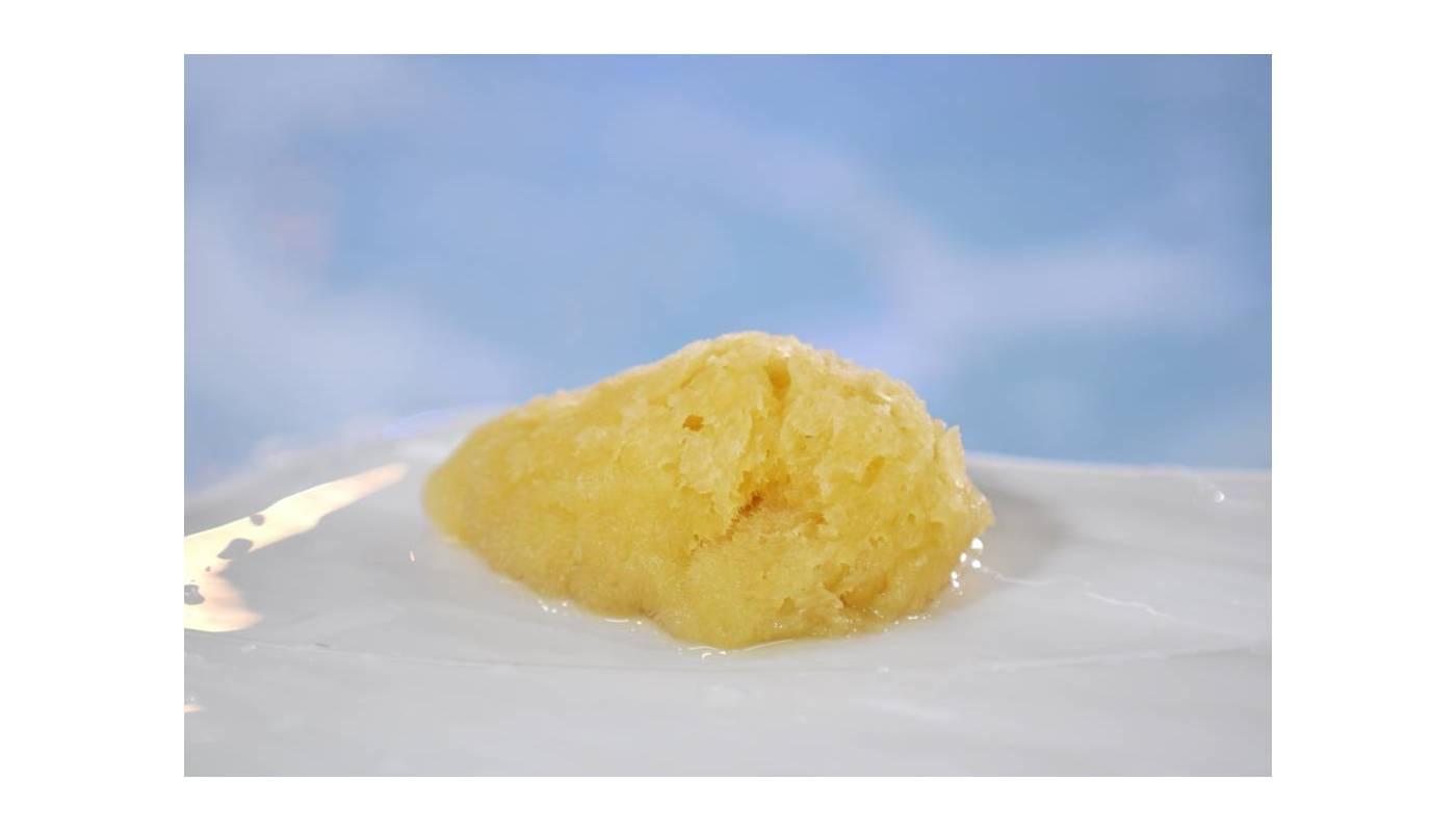 "Eponge Silk  Soie - Jaune - 3"" / 7.5 cm"