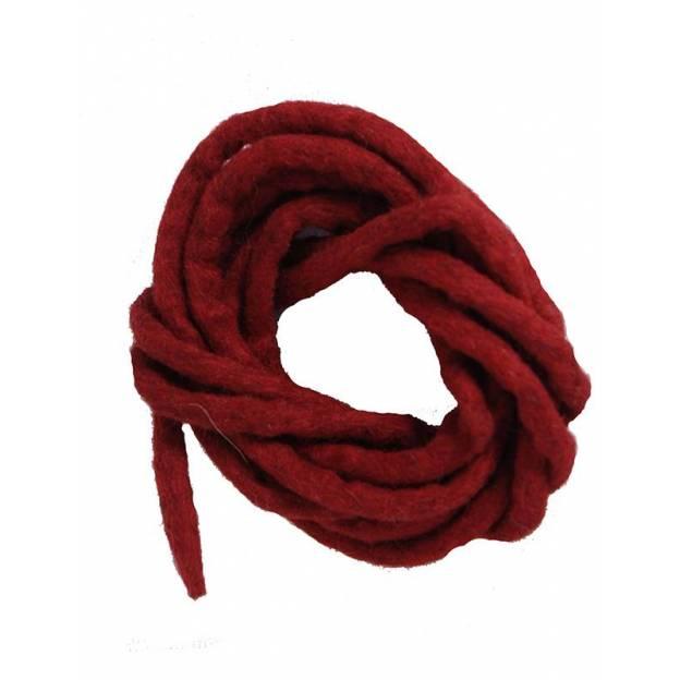 Cordon en feutre - Rouge