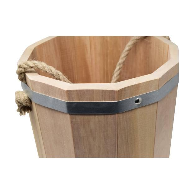 """Serviette """"kilt"""" pour sauna - Blanche"""