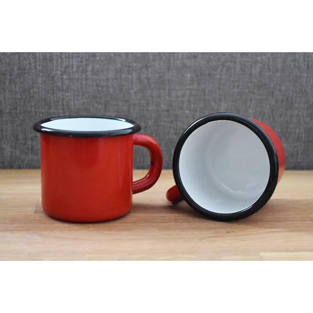 Assiette céramique peinte - Rishtan - Rouge
